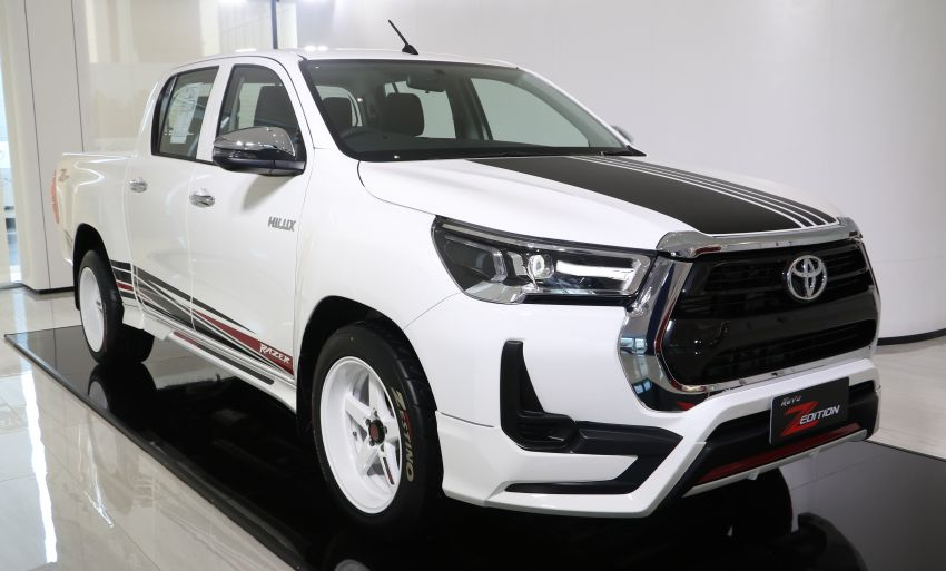 2021 Toyota Hilux GR Sport launched in Thailand – high- and low-rider versions, 2.8L, RM113k-RM166k Image #1335453