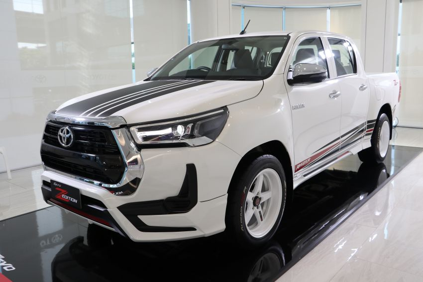2021 Toyota Hilux GR Sport launched in Thailand – high- and low-rider versions, 2.8L, RM113k-RM166k Image #1335454