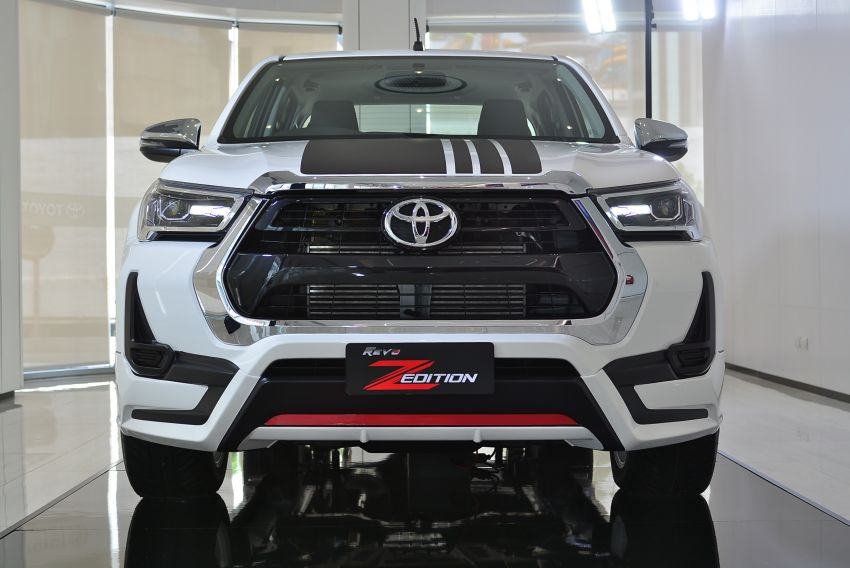 2021 Toyota Hilux GR Sport launched in Thailand – high- and low-rider versions, 2.8L, RM113k-RM166k Image #1335455