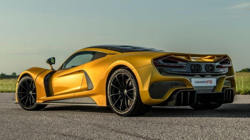 Hennessey Venom F5 – RM8.9mil V8 hypercar sold out Image #1333527