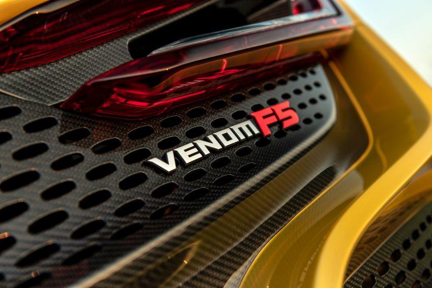 Hennessey Venom F5 – RM8.9mil V8 hypercar sold out Image #1333537