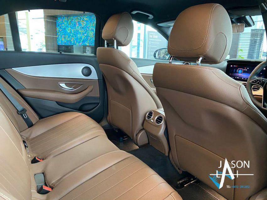 2021 Mercedes-Benz E-Class facelift in Malaysia – live photos of the E200 Avantgarde and E300 AMG Line Image #1325551