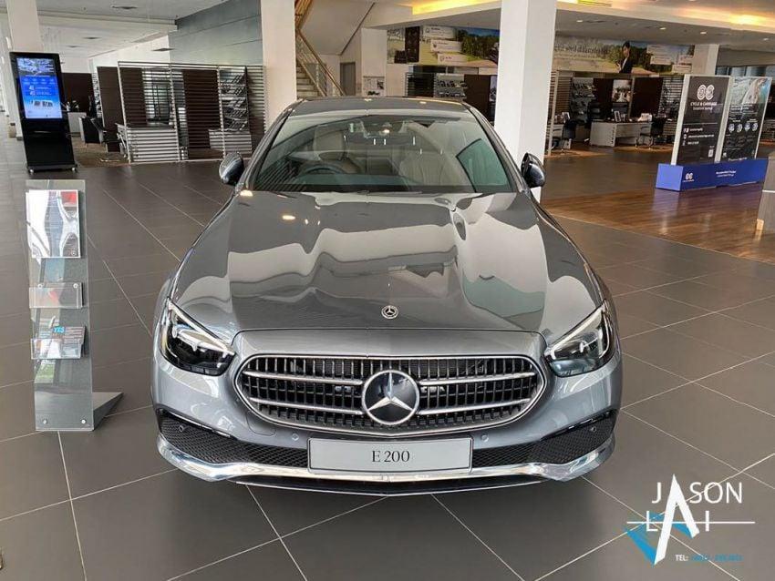 2021 Mercedes-Benz E-Class facelift in Malaysia – live photos of the E200 Avantgarde and E300 AMG Line Image #1325544