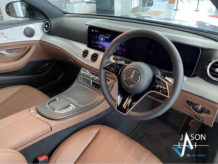 2021 Mercedes-Benz E-Class facelift in Malaysia – live photos of the E200 Avantgarde and E300 AMG Line Image #1325546
