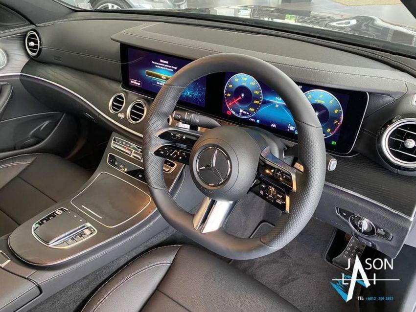 2021 Mercedes-Benz E-Class facelift in Malaysia – live photos of the E200 Avantgarde and E300 AMG Line Image #1325536