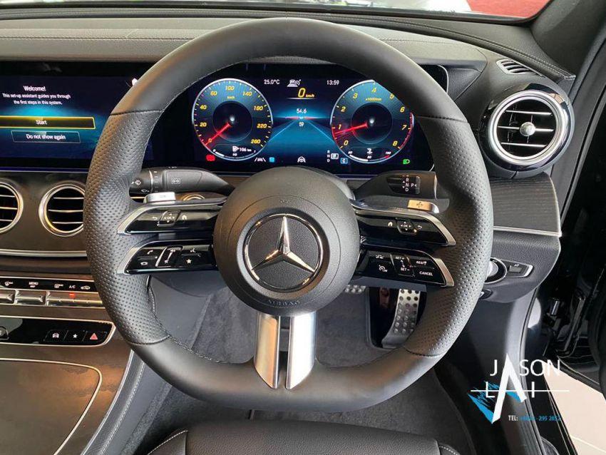 2021 Mercedes-Benz E-Class facelift in Malaysia – live photos of the E200 Avantgarde and E300 AMG Line Image #1325537