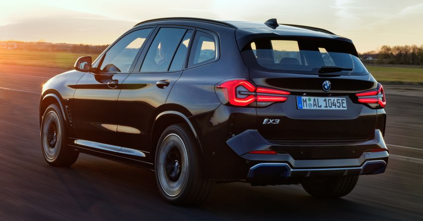 2022 G08 BMW iX3 facelift unveiled – M Sport package and BMW Driving Assistant Professional as standard! Image #1328814
