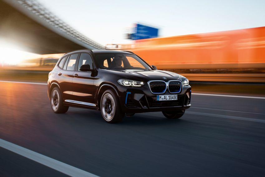 2022 G08 BMW iX3 facelift unveiled – M Sport package and BMW Driving Assistant Professional as standard! Image #1328831