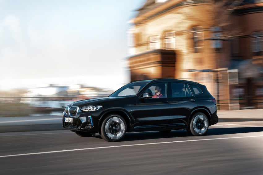 2022 G08 BMW iX3 facelift unveiled – M Sport package and BMW Driving Assistant Professional as standard! Image #1328833