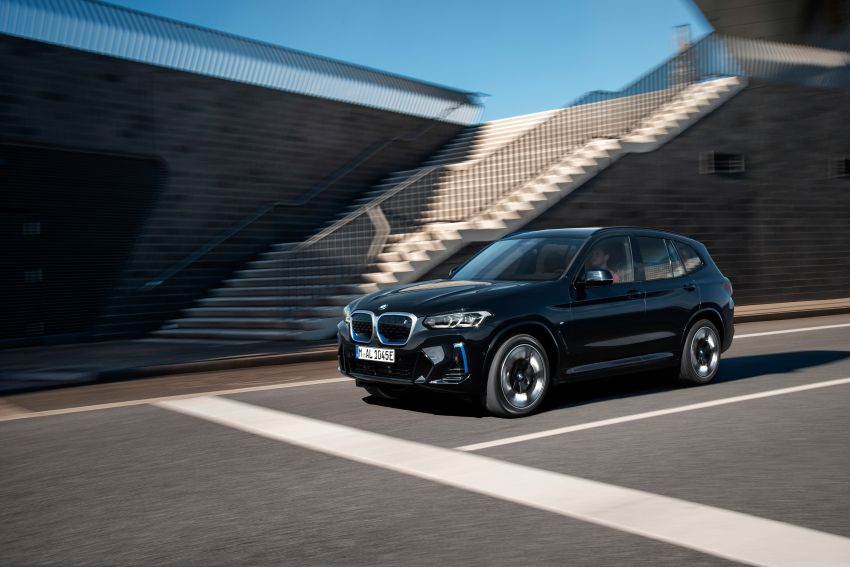 2022 G08 BMW iX3 facelift unveiled – M Sport package and BMW Driving Assistant Professional as standard! Image #1328834