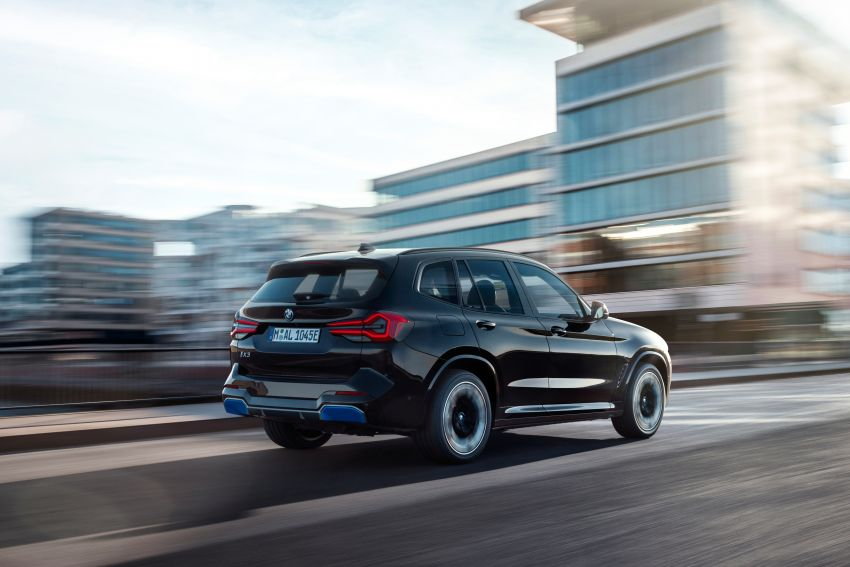 2022 G08 BMW iX3 facelift unveiled – M Sport package and BMW Driving Assistant Professional as standard! Image #1328835