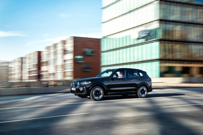 2022 G08 BMW iX3 facelift unveiled – M Sport package and BMW Driving Assistant Professional as standard! Image #1328837