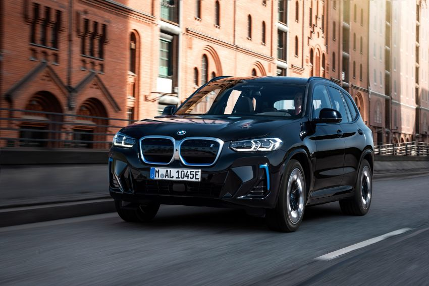 2022 G08 BMW iX3 facelift unveiled – M Sport package and BMW Driving Assistant Professional as standard! Image #1328838
