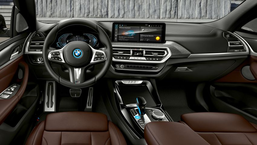 2022 G08 BMW iX3 facelift unveiled – M Sport package and BMW Driving Assistant Professional as standard! Image #1328841