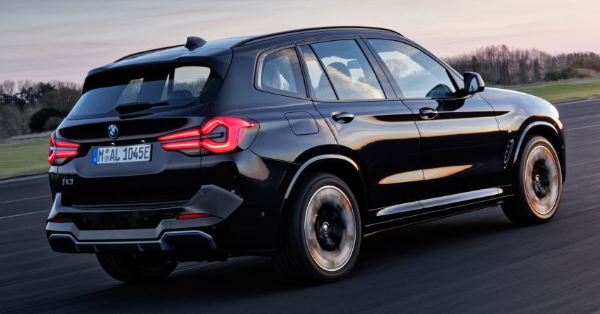 2022 G08 BMW iX3 facelift unveiled – M Sport package and BMW Driving Assistant Professional as standard! Image #1328816