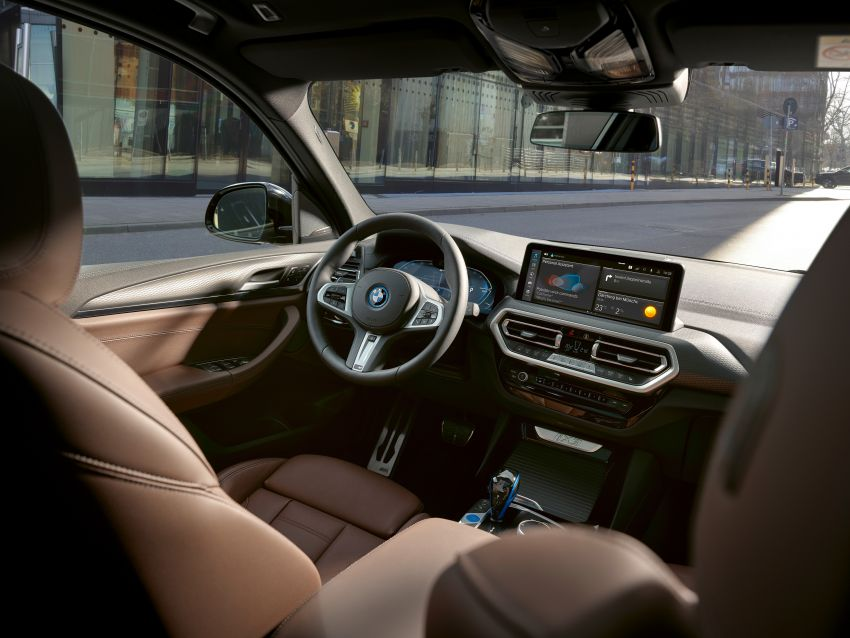 2022 G08 BMW iX3 facelift unveiled – M Sport package and BMW Driving Assistant Professional as standard! Image #1328849