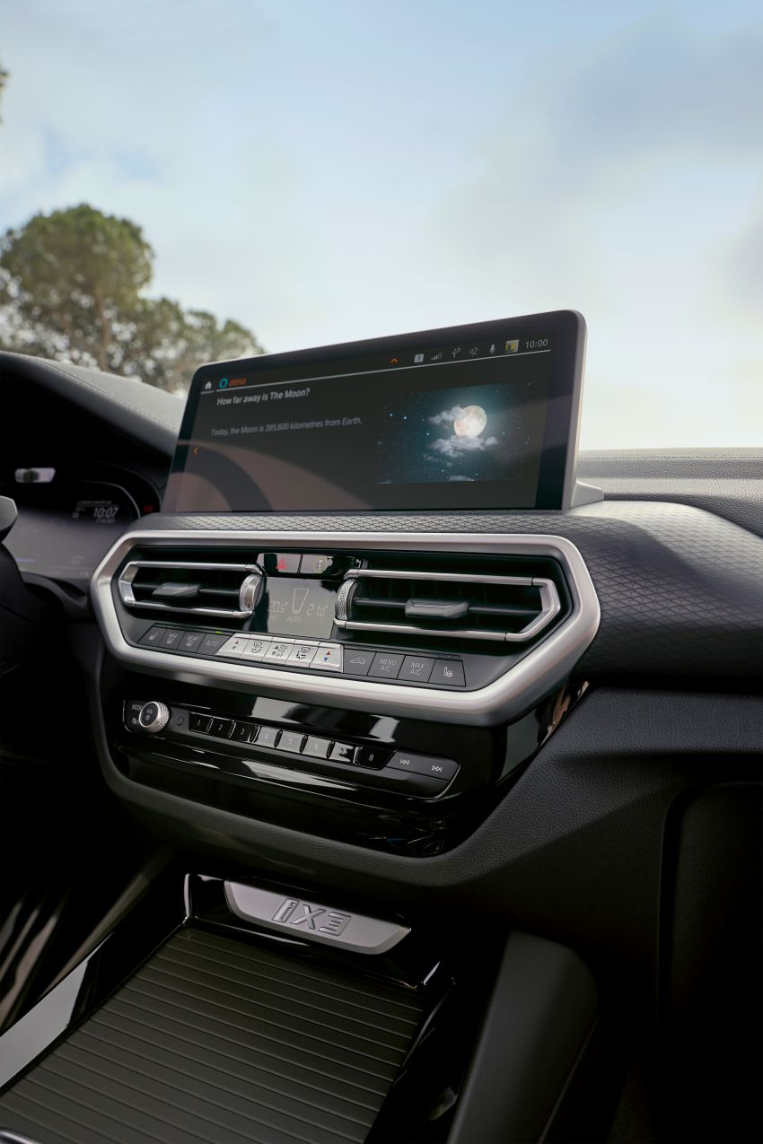 2022 G08 BMW iX3 facelift unveiled – M Sport package and BMW Driving Assistant Professional as standard! Image #1328850