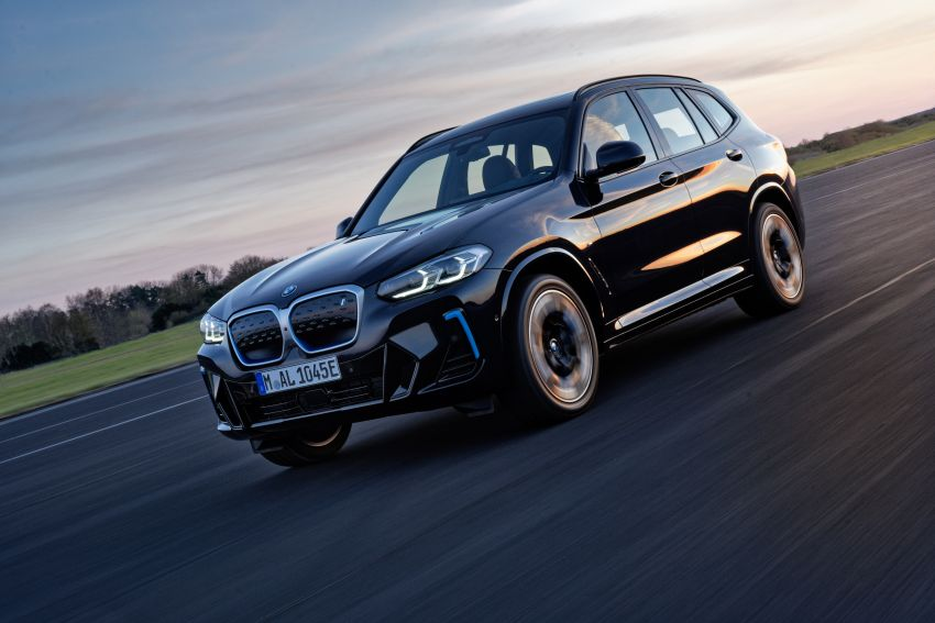 2022 G08 BMW iX3 facelift unveiled – M Sport package and BMW Driving Assistant Professional as standard! Image #1328817