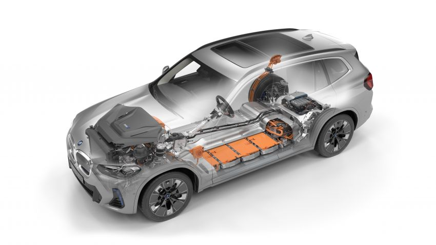 2022 G08 BMW iX3 facelift unveiled – M Sport package and BMW Driving Assistant Professional as standard! Image #1328858