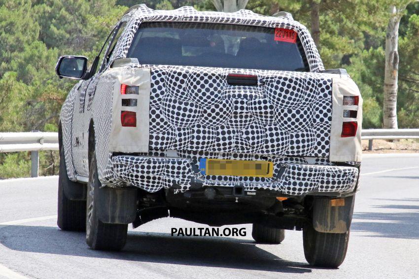 SPYSHOT: Ford Ranger 2022 dapat muka hadapan seperti Maverick, enjin plug-in hybrid 367 PS, 680 Nm Image #1327881
