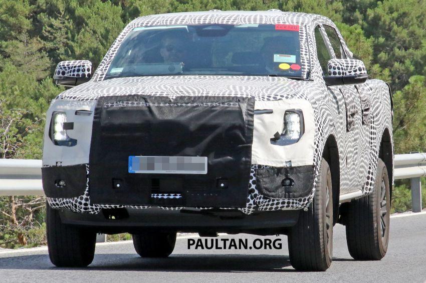 SPYSHOT: Ford Ranger 2022 dapat muka hadapan seperti Maverick, enjin plug-in hybrid 367 PS, 680 Nm Image #1327878