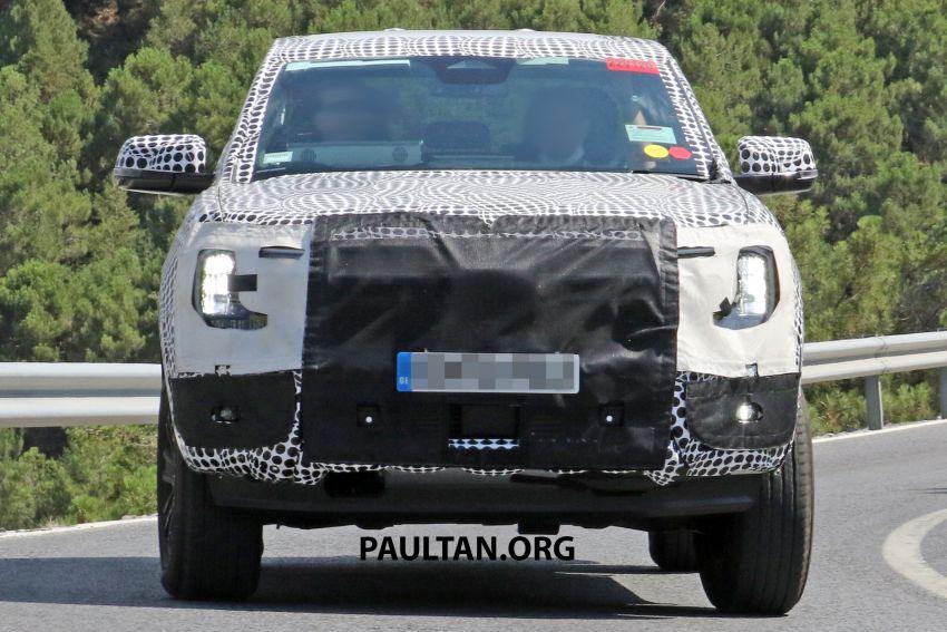 SPYSHOT: Ford Ranger 2022 dapat muka hadapan seperti Maverick, enjin plug-in hybrid 367 PS, 680 Nm Image #1327877
