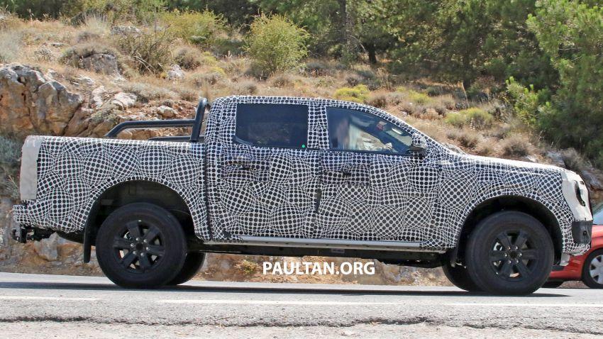 SPYSHOT: Ford Ranger 2022 dapat muka hadapan seperti Maverick, enjin plug-in hybrid 367 PS, 680 Nm Image #1327873