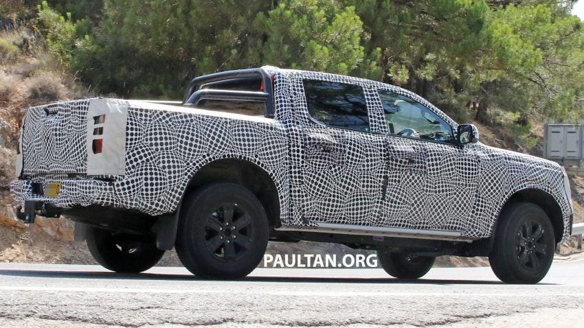 SPYSHOT: Ford Ranger 2022 dapat muka hadapan seperti Maverick, enjin plug-in hybrid 367 PS, 680 Nm Image #1327872