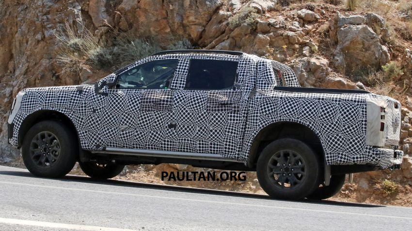 SPYSHOT: Ford Ranger 2022 dapat muka hadapan seperti Maverick, enjin plug-in hybrid 367 PS, 680 Nm Image #1327884