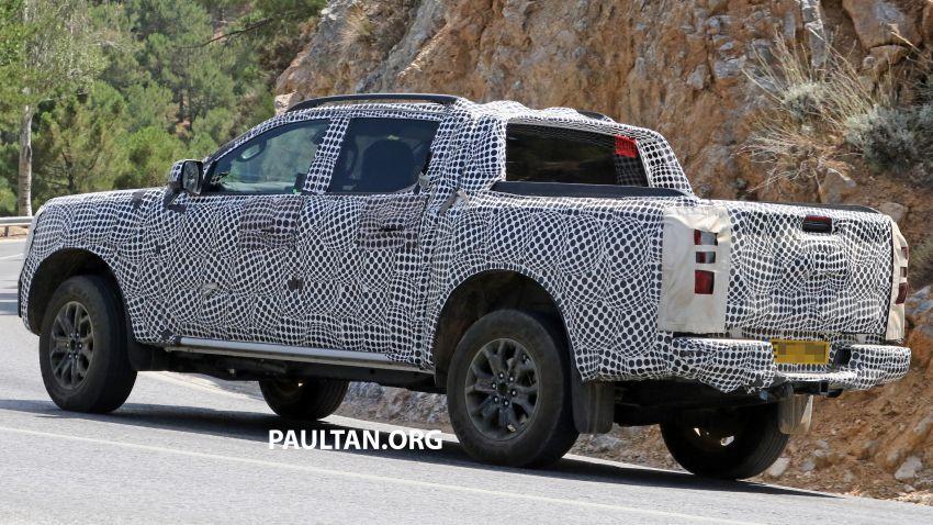 SPYSHOT: Ford Ranger 2022 dapat muka hadapan seperti Maverick, enjin plug-in hybrid 367 PS, 680 Nm Image #1327883