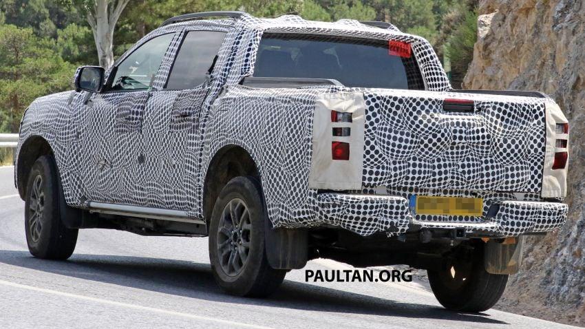 SPYSHOT: Ford Ranger 2022 dapat muka hadapan seperti Maverick, enjin plug-in hybrid 367 PS, 680 Nm Image #1327882