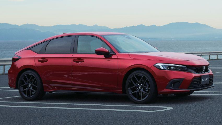 Honda Civic gen. ke-11 pasaran Jepun diperincikan – hanya hatchback, 1.5L Turbo, ada manual 6-kelajuan Image #1327750