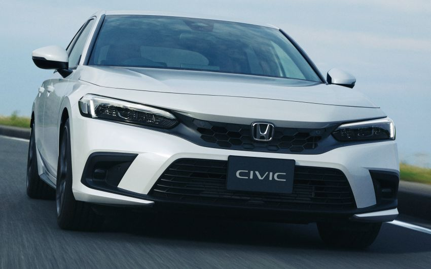 Honda Civic gen. ke-11 pasaran Jepun diperincikan – hanya hatchback, 1.5L Turbo, ada manual 6-kelajuan Image #1327751