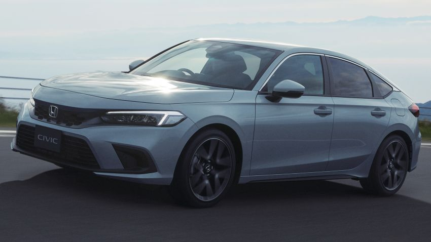 Honda Civic gen. ke-11 pasaran Jepun diperincikan – hanya hatchback, 1.5L Turbo, ada manual 6-kelajuan Image #1327752