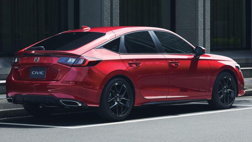 Honda Civic gen. ke-11 pasaran Jepun diperincikan – hanya hatchback, 1.5L Turbo, ada manual 6-kelajuan Image #1327753