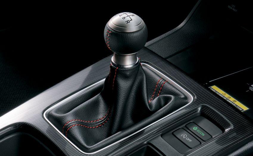 Honda Civic gen. ke-11 pasaran Jepun diperincikan – hanya hatchback, 1.5L Turbo, ada manual 6-kelajuan Image #1327756