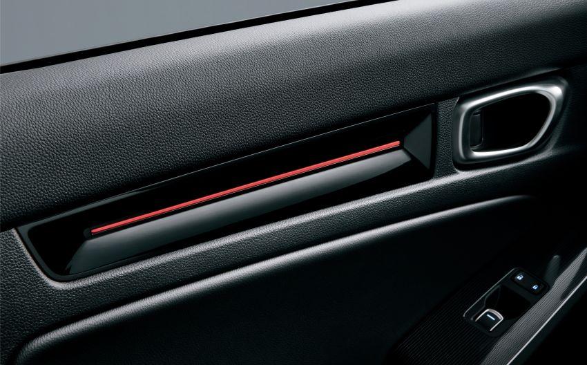 Honda Civic gen. ke-11 pasaran Jepun diperincikan – hanya hatchback, 1.5L Turbo, ada manual 6-kelajuan Image #1327758