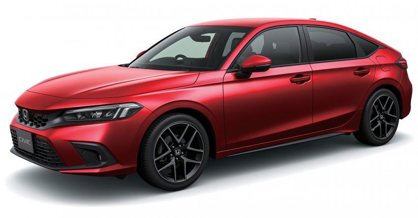 Honda Civic gen. ke-11 pasaran Jepun diperincikan – hanya hatchback, 1.5L Turbo, ada manual 6-kelajuan Image #1327741
