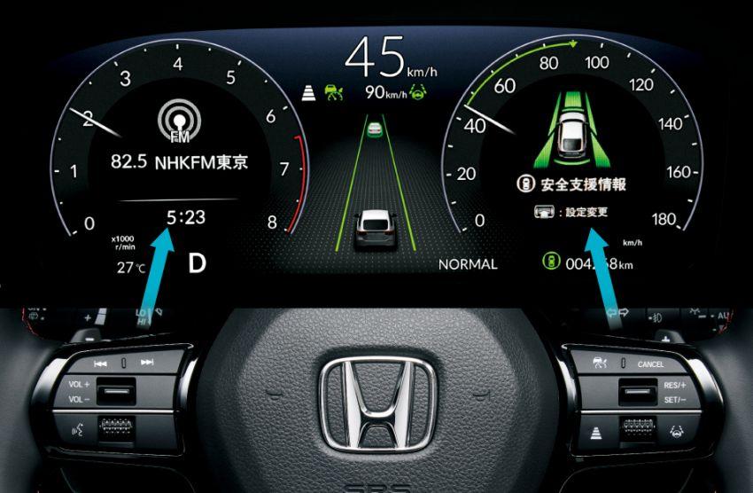 Honda Civic gen. ke-11 pasaran Jepun diperincikan – hanya hatchback, 1.5L Turbo, ada manual 6-kelajuan Image #1327764