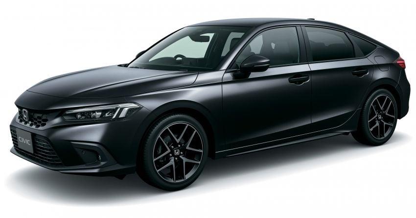 Honda Civic gen. ke-11 pasaran Jepun diperincikan – hanya hatchback, 1.5L Turbo, ada manual 6-kelajuan Image #1327743