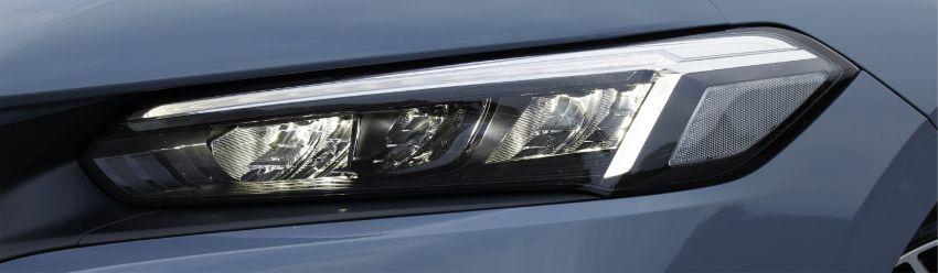 Honda Civic gen. ke-11 pasaran Jepun diperincikan – hanya hatchback, 1.5L Turbo, ada manual 6-kelajuan Image #1327805