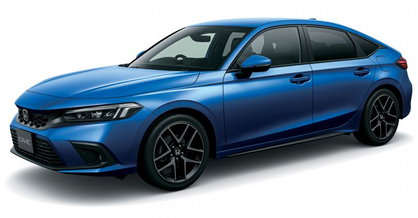 Honda Civic gen. ke-11 pasaran Jepun diperincikan – hanya hatchback, 1.5L Turbo, ada manual 6-kelajuan Image #1327745