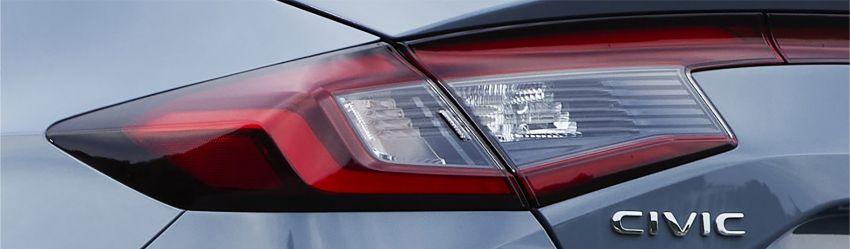 Honda Civic gen. ke-11 pasaran Jepun diperincikan – hanya hatchback, 1.5L Turbo, ada manual 6-kelajuan Image #1327806