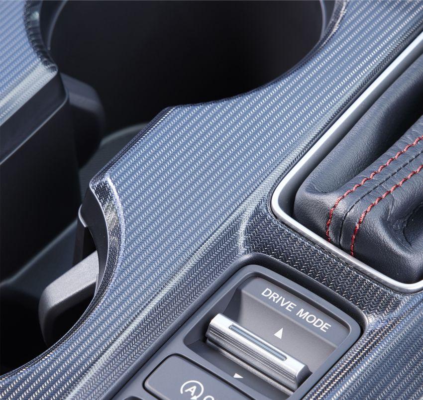 Honda Civic gen. ke-11 pasaran Jepun diperincikan – hanya hatchback, 1.5L Turbo, ada manual 6-kelajuan Image #1327812