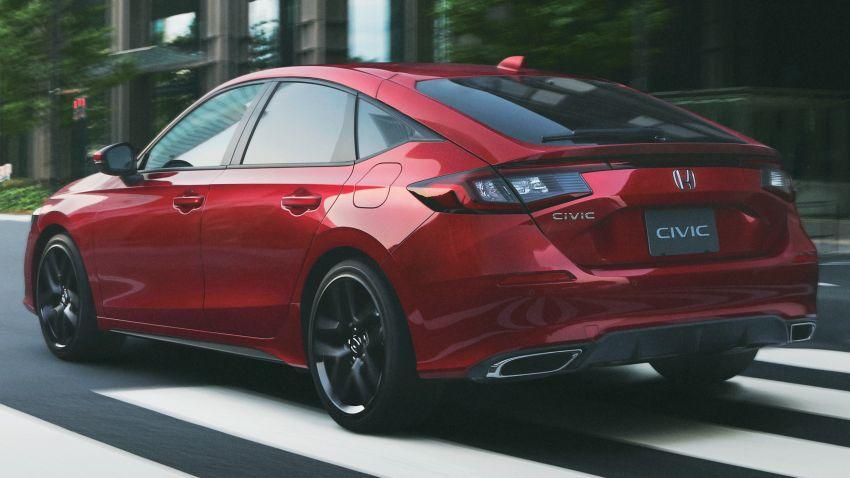 Honda Civic gen. ke-11 pasaran Jepun diperincikan – hanya hatchback, 1.5L Turbo, ada manual 6-kelajuan Image #1327748