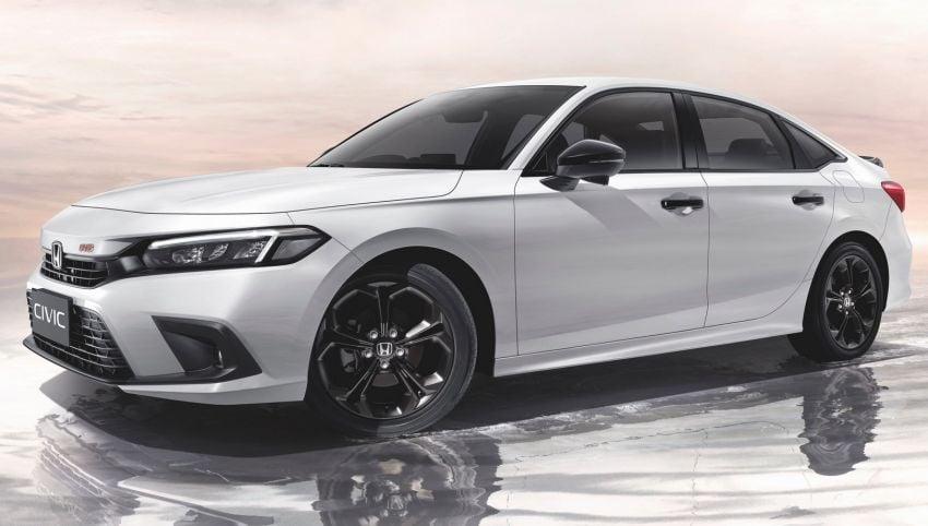 2022 Honda Civic launched in Thailand: 178 PS/240 Nm 1.5L VTEC Turbo, standard Sensing, RM122k-RM151k Image #1327907