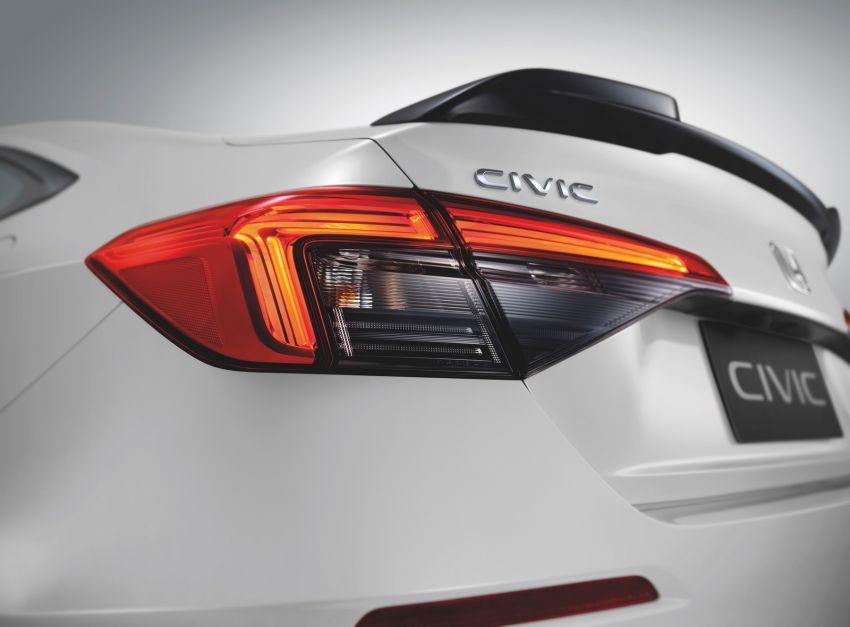 2022 Honda Civic launched in Thailand: 178 PS/240 Nm 1.5L VTEC Turbo, standard Sensing, RM122k-RM151k Image #1327916