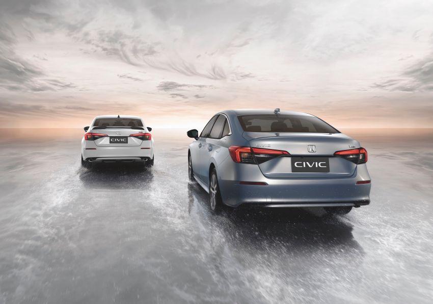 2022 Honda Civic launched in Thailand: 178 PS/240 Nm 1.5L VTEC Turbo, standard Sensing, RM122k-RM151k Image #1327909