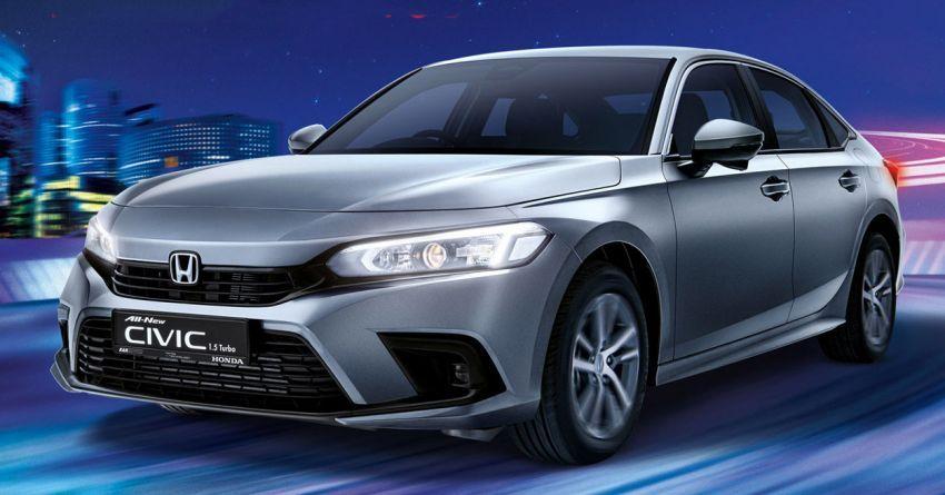 Honda Civic 2022 dilancarkan di Singapura — 1.5L VTEC Turbo, 129 PS, Honda Sensing, dari RM384k Image #1330221