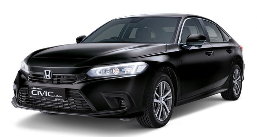Honda Civic 2022 dilancarkan di Singapura — 1.5L VTEC Turbo, 129 PS, Honda Sensing, dari RM384k Image #1330231